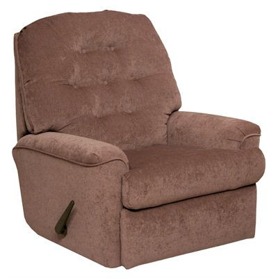 Catnapper Piper Small Scale Rocker Recliner Chair in Mauve