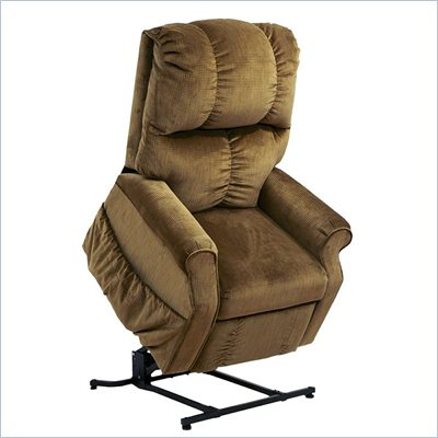 Catnapper Somerset Power Lift Lounger Recliner Chair in Havana