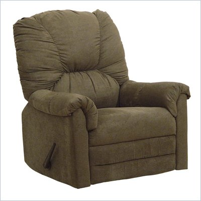 Catnapper Winner Oversized Rocker Recliner Chair in Herbal