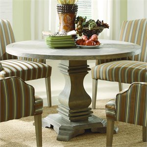 Trent Home Euro Casual Dining Table in Rustic Weather