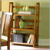 Homelegance Britanica Oak Folding Bookcase