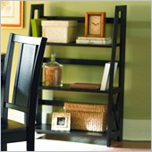 Homelegance Britanica Black Folding Bookcase
