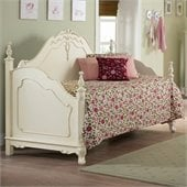 Homelegance Cinderella Wood Daybed with Link Spring in Ecru Finish