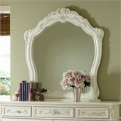 Homelegance Cinderella Mirror in Ecru Finish