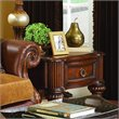 ADD TO YOUR SET: Homelegance Prenzo End Table in Warm Brown Finish