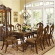 ADD TO YOUR SET: Homelegance Prenzo Rectangular Dining Table in Warm Brown Finish