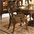 ADD TO YOUR SET: Homelegance Prenzo Arm Chair in Warm Brown Finish (Set of 2)