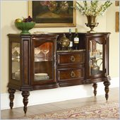 Homelegance Prenzo Server in Warm Brown Finish