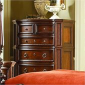 Homelegance Prenzo Chest in Warm Brown Finish