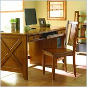 Homelegance Britanica Oak Country Style Writing Desk