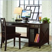 Homelegance Britanica Contemporary Wood Writing Desk in Espresso