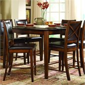 Homelegance Verona Dark Oak Counter Height Table