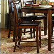 ADD TO YOUR SET: Homelegance Verona Dark Oak Counter Height Chair (Set of 2)