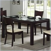 Homelegance Radius Merlot Dining Table