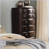Homelegance Grandover Chest in Dark Cherry Finish