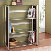 Homelegance Network Metal and Glass Bookcase in Champagne finish