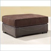 Homelegance Lamont Ottoman in Brown