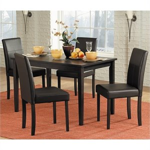 Trent Home Dover Dining Table in Espresso Finish