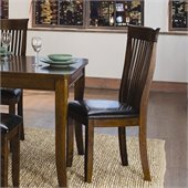 Homelegance Alita Dining Side Chair in Warm Cherry (Set of 2)
