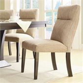 Homelegance Avery Dining Side Chair in Espresso (Set of 2)