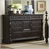 Homelegance Jackson Park Dresser in Dark Cherry