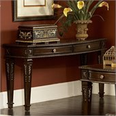 Homelegance Palace Sofa Table in Rich Brown