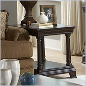 Homelegance Inglewood End Table in Espresso