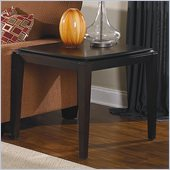 Homelegance Daytona End Table in Dark Espresso