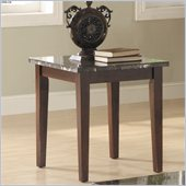 Homelegance Decatur End Table in Espresso