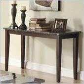 Homelegance Decatur Sofa Table in Espresso