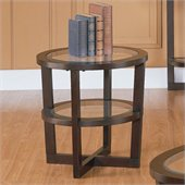 Homelegance Vista End Table in Cherry