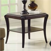 Homelegance Q.Pfifer End Table in Espresso