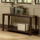 Homelegance Belvedere Sofa Table in Espresso