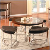 Homelegance Maine Cocktail Table in Brown