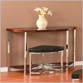 Homelegance Maine Sofa Table in Brown