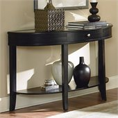 Homelegance Brooksby Sofa Table in Ebonized Cherry