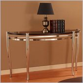 Homelegance Coffey Sofa Table in Espresso
