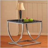 Homelegance Recca End Table in Black