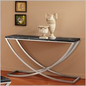 Homelegance Recca Sofa Table in Black