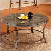 Homelegance Willow Cocktail Table in Grey