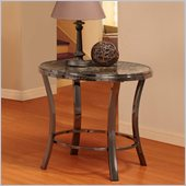 Homelegance Willow End Table in Grey