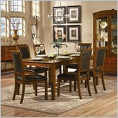 Homelegance Avalon 7 Piece Dining Table Set in Cherry