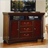 Homelegance Isleworth TV Chest in Dark Brown