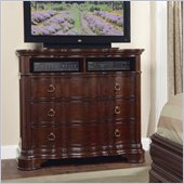 Homelegance Perry Hall TV Chest in Cherry