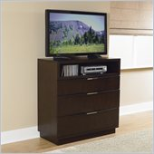 Homelegance Cologne TV Chest in Espresso