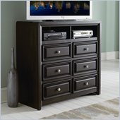 Homelegance Abel TV Chest in Ebonized Espresso