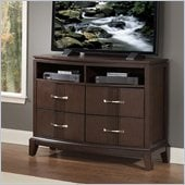 Homelegance Daytona TV Chest in Dark Espresso