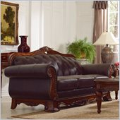 Homelegance Golden Eagle Sofa in Brown