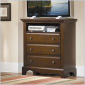 Homelegance Hudson Bay TV Chest in Espresso