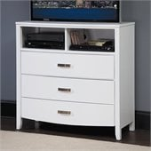 Homelegance Lyric TV Chest in White